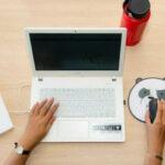 ノートPCとマウス